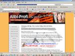 Wirtschaft: Alibi-Profi - Wenn es keiner wissen soll
